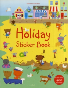 Holiday Sticker Book, Board book Book