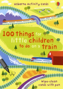 100 Things for Little Children to Do on a Train, Cards Book