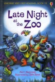 Late Night at the Zoo, Hardback Book