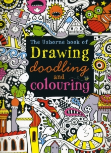 Drawing, Doodling and Colouring Book, Paperback Book