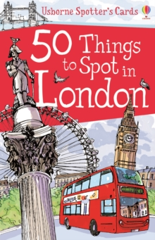 50 Things to Spot in London, Cards Book