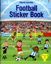 Football Sticker Book, Paperback Book