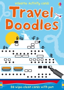Travel Doodles, Cards Book