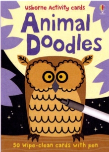 Animal Doodles, Cards Book