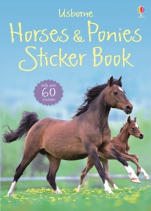 Horses and Ponies Sticker Book, Paperback Book