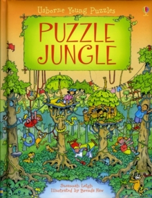 Puzzle Jungle, Hardback Book