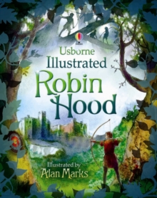 Illustrated Robin Hood, Hardback Book