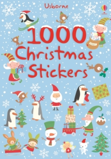 1000 Christmas Stickers, Paperback Book