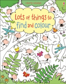 Lots of Things to Find and Colour, Paperback Book