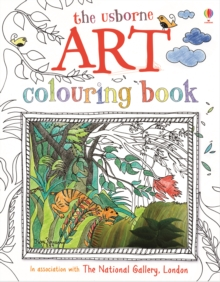 Art Colouring Book, Paperback Book
