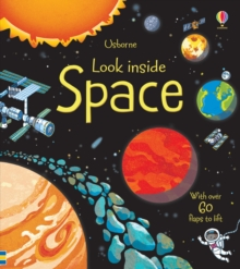 Look Inside Space, Hardback Book
