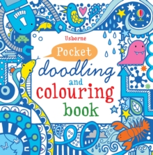 Pocket Doodling and Colouring Book : Blue Book, Paperback Book