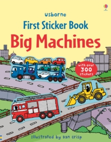 First Sticker Book Big Machines, Paperback Book