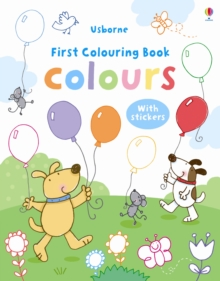 My First Colours Colouring Book, Paperback Book