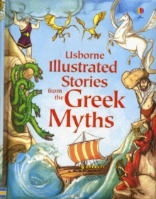 Illustrated Stories from the Greek Myths, Hardback Book