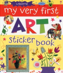 My Very First Art Sticker Book, Paperback Book