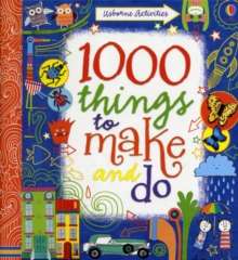 1000 Things to Make and Do, Spiral bound Book
