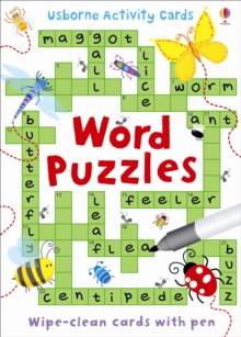 Word Puzzles, Cards Book