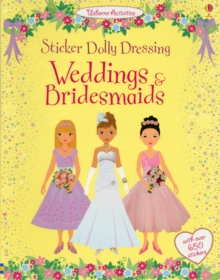 Sticker Dolly Dressing Weddings and Bridesmaids, Paperback Book