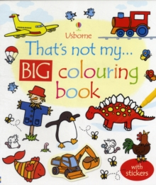 That's Not My... Big Colouring Book, Paperback Book