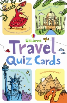 Travel Quiz, Cards Book