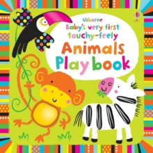 Baby's Very First Touchy-Feely Animals Playbook, Board book Book
