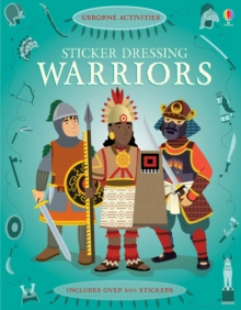 Sticker Dressing: Warriors, Paperback Book