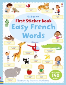 Easy French Words, Paperback Book