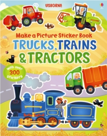 Trains, Truck & Tractors, Paperback Book
