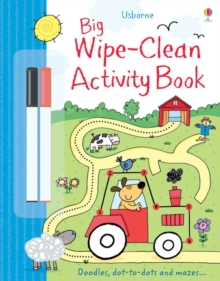 Big Wipe Clean Activity Book, Paperback Book
