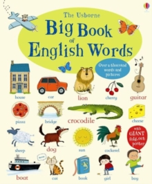 Big Book of English Words, Board book Book