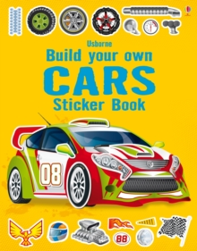 Build Your Own Cars Sticker Book, Paperback Book