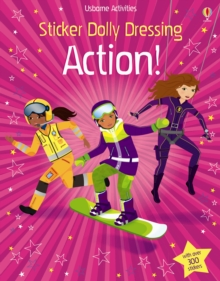 Sticker Dolly Dressing Action!, Paperback Book