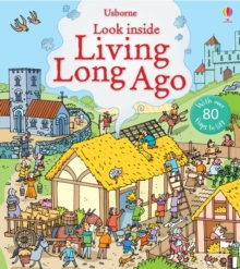 Look Inside Living Long Ago, Board book Book