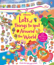 Lots of Things to Spot Around the World, Paperback Book