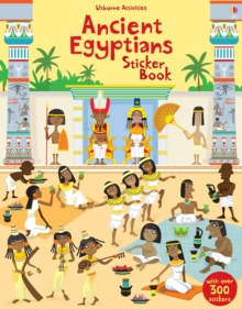 Ancient Egyptians Sticker Book, Paperback Book
