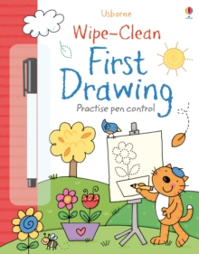 Wipe-Clean First Drawing, Paperback / softback Book