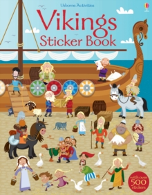 Vikings Sticker Book, Paperback Book