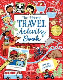 Travel Activity Book, Paperback Book