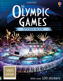 The Olympic Games Sticker Book, Paperback Book