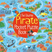 Pirate Pocket Puzzle Book, Paperback Book