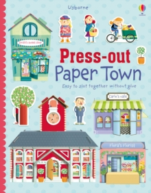 Press-Out Paper Town, Hardback Book