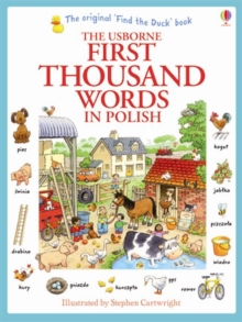 First Thousand Words in Polish, Paperback Book