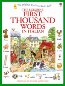 First Thousand Words in Italian, Paperback / softback Book
