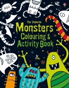 Monsters Colouring and Activity Book, Paperback Book