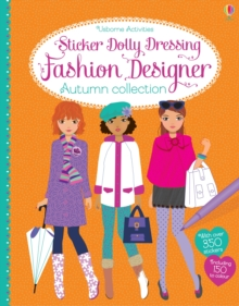 Sticker Dolly Dressing Fashion Designer Autumn Collection, Paperback Book