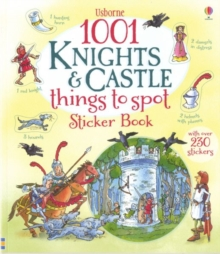 1001 Knights and Castles to Spot Sticker Book, Paperback Book