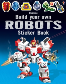 Build Your Own Robots Sticker Book, Paperback Book