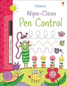 Wipe-Clean Pen Control, Paperback Book