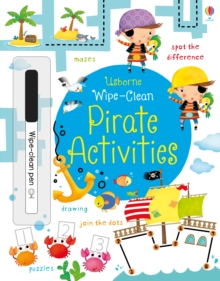 Wipe-Clean Pirate Activities, Paperback Book